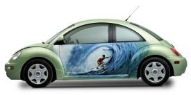 Der New Beetle verkörpert Lifestyle und Zeitgeist. © Volkswagen