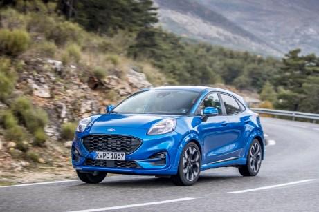 Der Puma markiert als erster die neue Designsprache bei Ford. © Ford