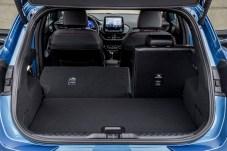 Darauf hat Ford kompromisslos viel Wert gelegt: Das Kofferraumvolumen markiert die Bestmarke in der Fahrzeugklasse. © Ford