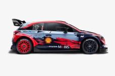 Schön und schnell: das Hyundai i20 Coupe WRC. Mit diesem Renner will das Hyundai Motorsport Team 2020 den Marken-Titel in der Rallye-Weltmeisterschaft verteidigen. © Hyundai
