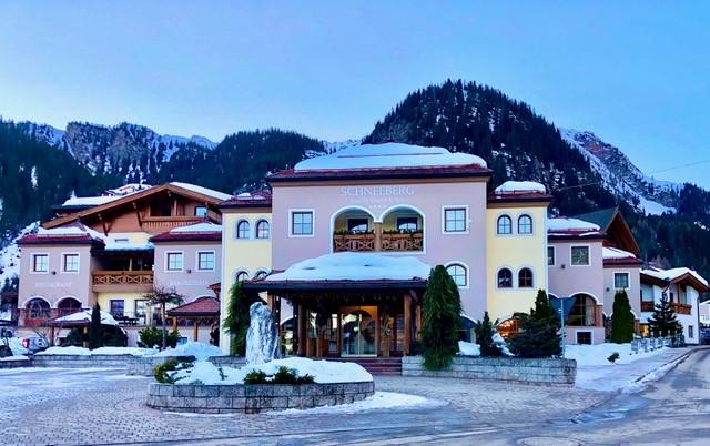 Das Hotel Schneeberg. © Klaus H. Frank