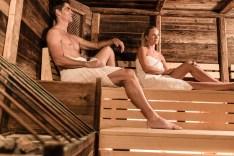 Qual der Wahl: Es gibt etliche Saunen und Dämpfbäder, zwischen denen man sich entscheiden muß. © Hotel Schneeberg