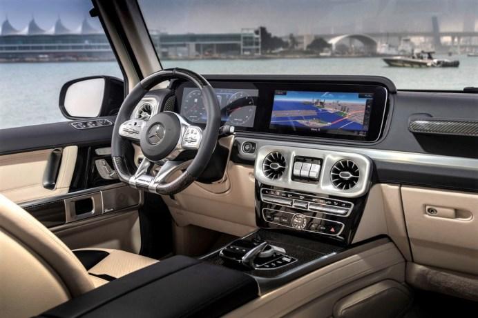 Cockpit des Mercedes-AMG G 63. © Daimler