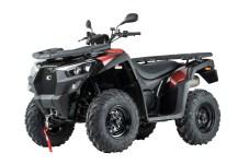 Vor allem Land- und Forstwirte sowie Garten- und Weinbergbesitzer kommen mit dem neuen ATV-Modell MXU 550i T Offroad LOF von Kymco auf ihre Kosten. © Kymco
