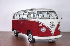 Ein Prachtexemplar des Bulli Samba. © Volkswagen
