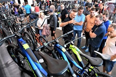"""Fahrradmesse """"Eurobike"""" in Friedrichshafen. Foto: Auto-Medienportal.Net/Messe Friedrichshafen"""