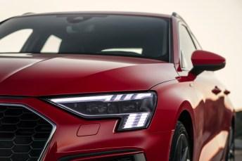 Ein Auto mit Ecken und Kanten und digital auf der Höhe der Zeit. © Audi