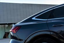 Der gute cW-Wert liegt vor allem an der coupéhaften Karosserieform und dem damit einhergehenden geringeren Strömungswiderstand hinter dem Auto. © Audi