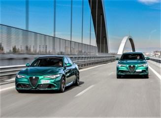 Alfa Romeo Stelvio Quadifoglio in der neuen Farbe Verde Montreal. Foto: Auto-Medienportal.Net/FCA