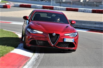 Alfa Romeo Giulia Quadrifoglio. Foto: Auto-Medienportal.Net/FCA