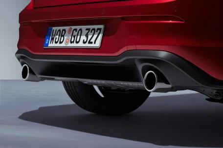 """Starker Abgang: Am Heck zeigen sich deutliche Unterschiede zum """"normalen"""" Golf. © VW"""