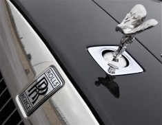 """Emily"" auf dem Rolls-Royce Wraith. Foto: Auto-Medienportal.Net"
