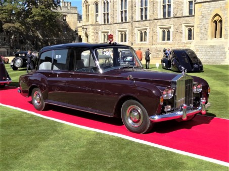Concourse of Elegance in Windsor Castle 2012: Her Majesty's Rolls Royce, 1977. Foto: Auto-Medienportal.Net