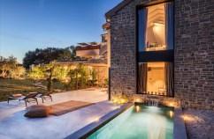Privater Pool der Villa © San Canzian