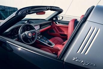 Das Interieur des Targa 4S entspricht dem der 911-Carrera-Modelle. © Porsche