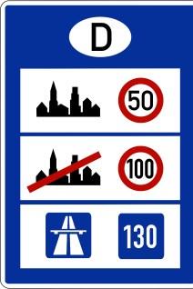 Noch ist das Limit von Tempo 130 auf deutschen Autobahnen im Rahmen der Straßenverkehrsordnung (StVO) nur eine freundliche Empfehlung. © StVO
