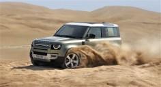 Der Defender ist vor allem dort zu Hause, wo es staubt. © Land Rover