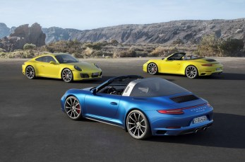 Porsche 911 Targa (2014). Foto: Auto-Medienportal.Net/Porsche