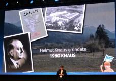 Im fränkischen Marktbreit gründete Helmut Knaus vor 60 Jahren das Unternehmen.