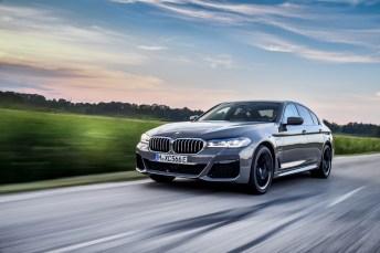 Fahrleistungen auf M-Niveau: der neue BMW 545e xDrive. © BMW