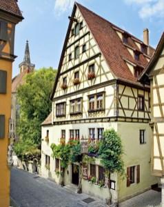 Hotel Reichsküchenmeister in Rothenburg ob der Tauber.© FTI