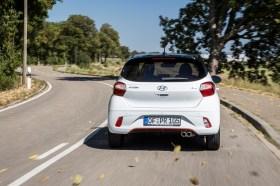 Klein, aber oho: der Hyundai i10 als N-Line. © Hyundai