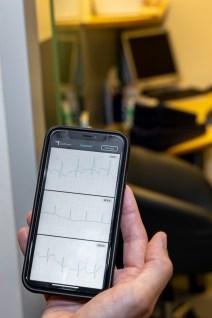 Die Herzfrequenz der Fahrerinnen und Fahrer wird sorgfältig überwacht. © Volvo
