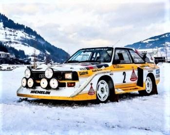 486.000 Euro bezahlte ein Liebhaber bei einer Auktion, die 2016 in London stattfand, für einen Audi Sport quattro. Nur 214 Exemplare sind von diesem 306 PS (225 kW) starken Über-quattro entstanden. Bei seinem Debüt 1984 kostete er 195.000 Mark. © Audi