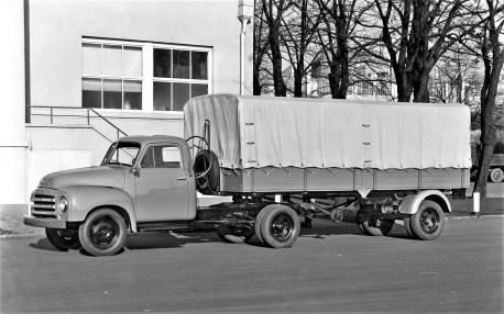 Opel-Blitz (1,75-to von 1952. Foto: Opel