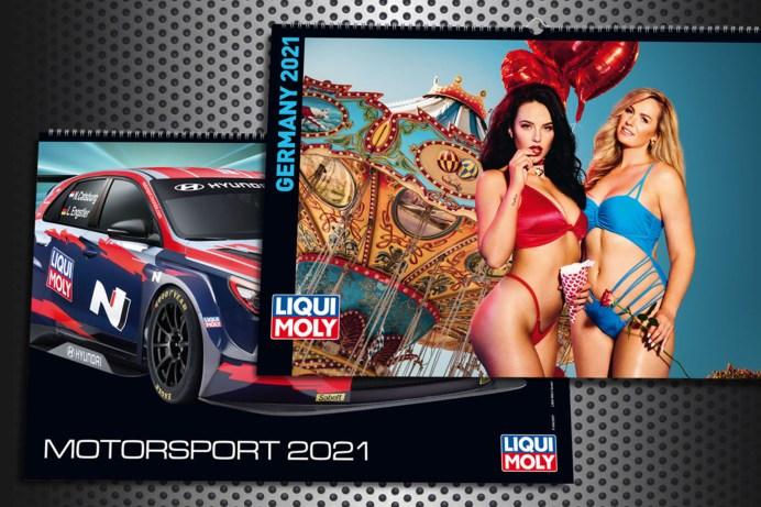 Liqui Moly hat für jeden Geschmack den passenden Kalender für das Jahr 2021. © Liqui Moly