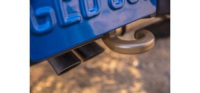 Aktiver Dual-Mode-Auspuff-Sound und Vierfach-Endrohre. Foto: Jeep