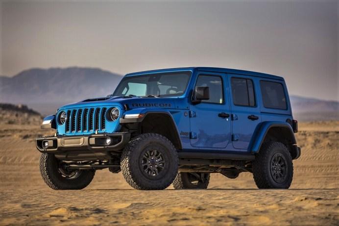 Beschleunigung von Null auf 96 Kilometer pro Stunde in 4,5 Sekunden, 40 Prozent schneller als ein Wrangler Rubicon mit V6-Motor. Foto: Jeep