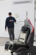 Sitech Sitz-Kompetenz aus Wolfsburg: Der weltweit einzigartige Klima-Simulator im Sitz des neuen Golf GTI. Foto: Auto-Medienportal.Net/Sitech