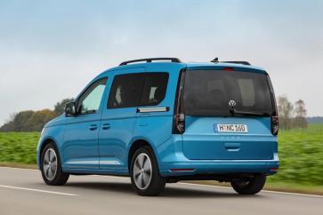 Neuer Caddy von Volkswagen Nutzfahrzeuge: Charismatisches Design und neue Exterieur-Features. © VWN