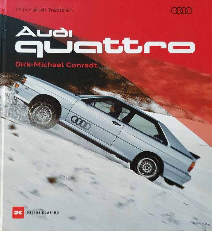 """Im neuen Buch """"Audi Quattro"""" erwarten den Leser auf 400 Seiten unter anderem 630 zum Teil bisher unveröffentlichte Fotos aus dem Archiv von Audi Tradition. © Delius Klasing Verlag"""
