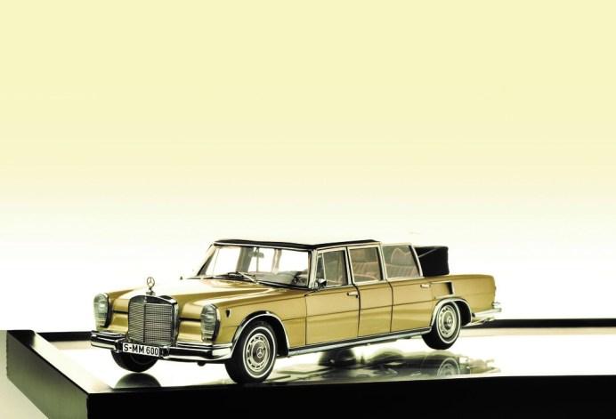 Modellfahrzeug des Jahres 2020: Mercedes-Benz 600 Landaulet von CMC (1:18). Foto: Auto-Medienportal.Net/Delius-Klasing-Verlag