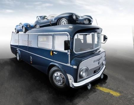 """Modellfahrzeug des Jahres 2020: Commer TS3 Renntransporter """"Ecurie Ecosse"""" von CMR (1:18). Foto: Auto-Medienportal.Net/Delius-Klasing-Verlag"""