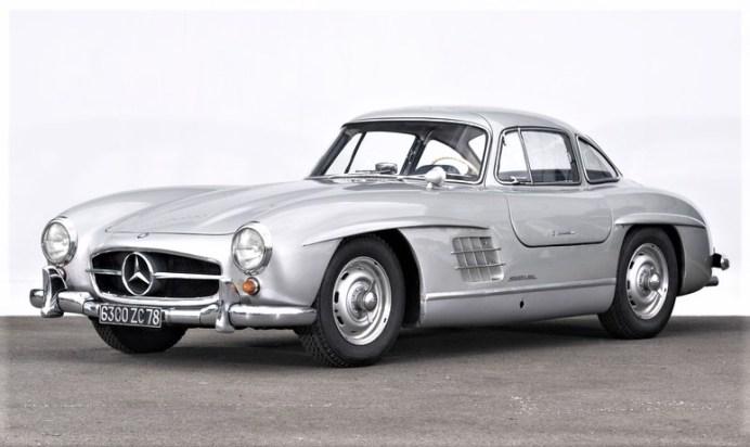 Mercedes-Benz 300 SL Flügeltürer von 1955. Foto: Auto-Medienportal.Net/Artcurial