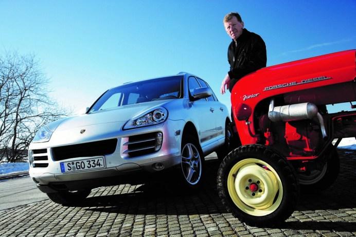 Porsche Cayenne, erste Generation, zweiter Diesel bei Porsche und Walther Roehrl. Foto: Auto-Medienportal.Net/Porsche