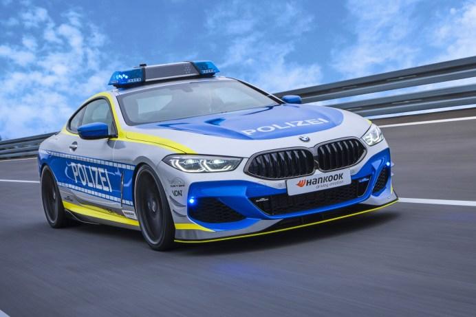 Der von AC Schnitzer optimierte BMW 850i xDrive Coupe kommt auf 620 PS. © Hankook