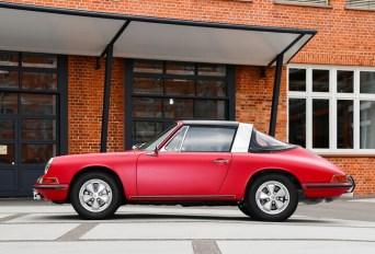 Restaurt: Der erste in Deutschland ausgelieferte Porsche 911 S Targa von 1967. Foto: Auto-Medienportal.Net/Porsche