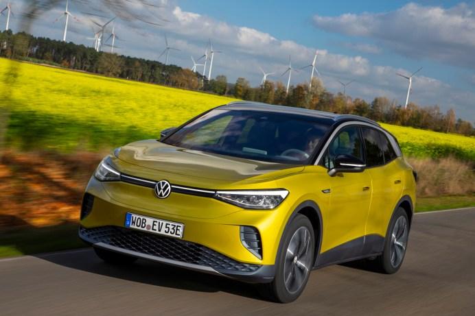 Der ID.4 ist das erste vollelektrische SUV von Volkswagen. © VW