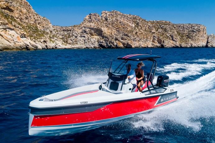 In der kleinen Klasse Motorboote bis acht Meter hat die Saxdor 200 Sport die Nase vorn. © Delius-Klasing-Verlag / Boote