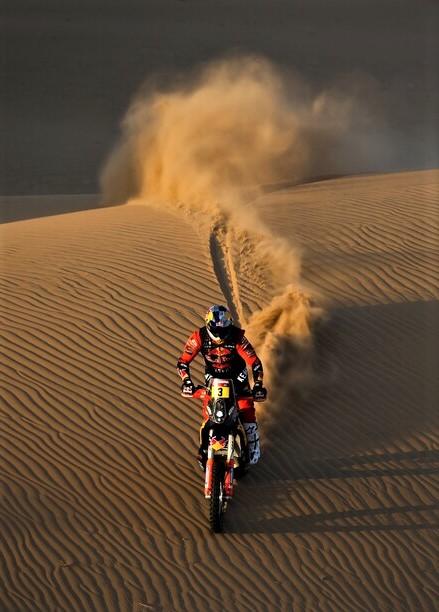 Dakar 2021: Toby Price auf KTM 450 Factory. Foto: Auto-Medienportal.Net/ASO/Gooden/DPPI