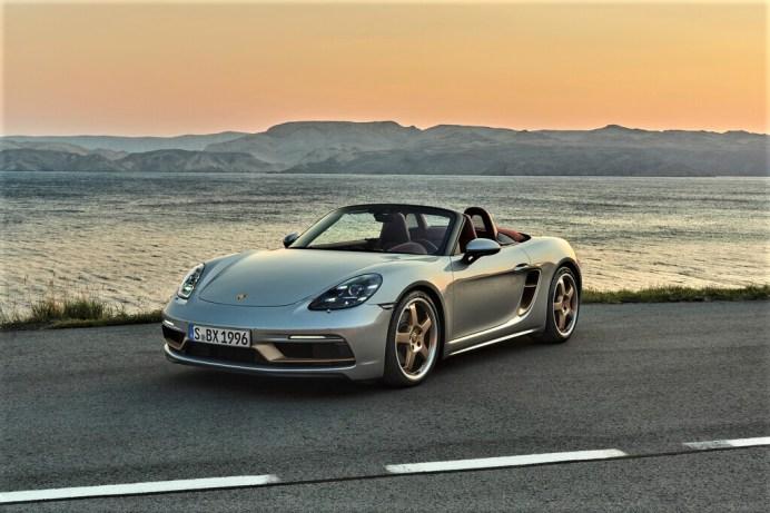 Porsche Boxster 25 Jahre. Foto: Auto-Medienportal.Net/Porsche