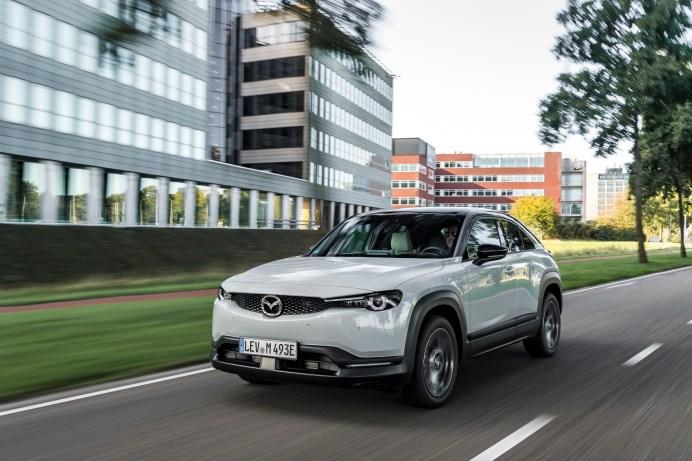 Den Mazda MX-30 gibt es jetzt ab 34.990 Euro mit dem Ad'Vantage-Ausstattungspaket. © Mazda