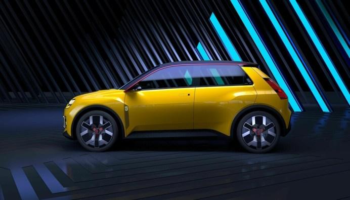 Der Renault 5 Prototype kombiniert als pfiffiges Stadtauto das kultige R5-Design des letzten Jahrhunderts mit einem rein elektrischen Antrieb. © Renault