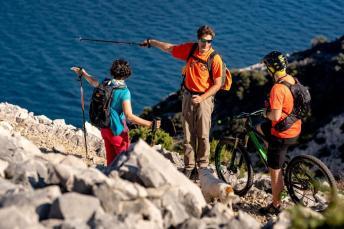 Der Trail Frux auf der Insel Rab. Foto: Petar Lupic