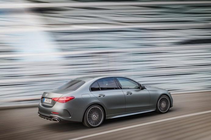 Aus einem Guss: Das Design der neuen C-Klasse ist knackiger geworden. © Daimler