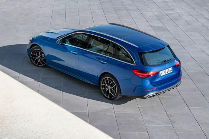 Das Kofferraumvolumen des neuen T-Modells ist leicht gewachsen. © Daimler